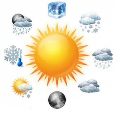 شرایط آب و هوایی