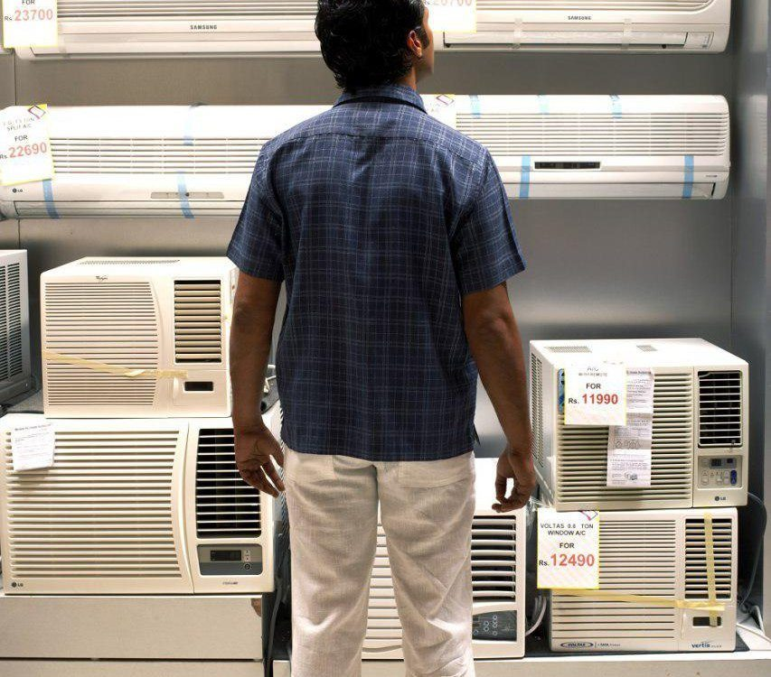 محاسبه ظرفیت مناسب کولر گازی