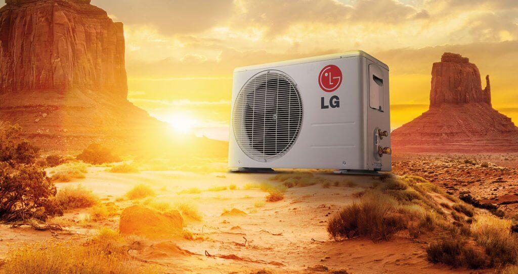 یونیت خارجی کولر گازی ال جی LG