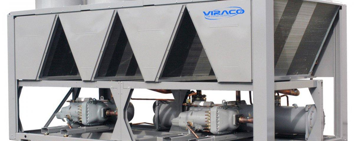 چیلر تراکمی اسکرال هواخنک VIRACO